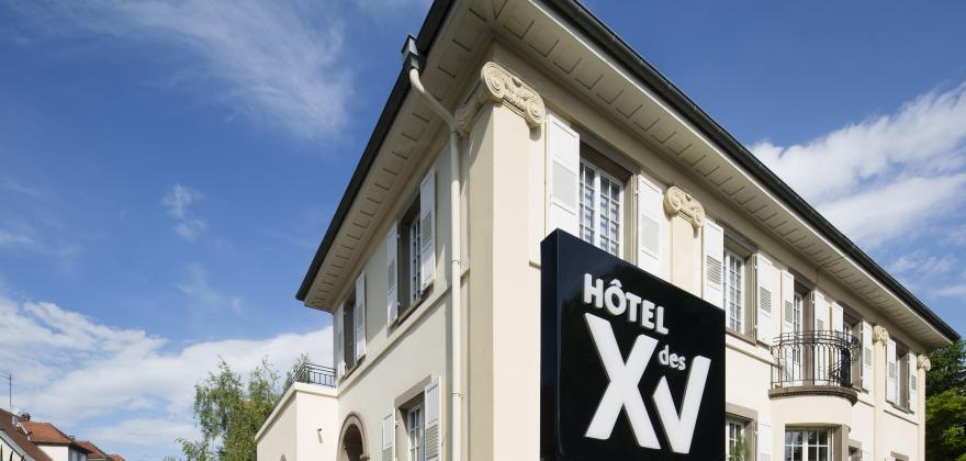 Welcome to the new website of the Hotel des XV