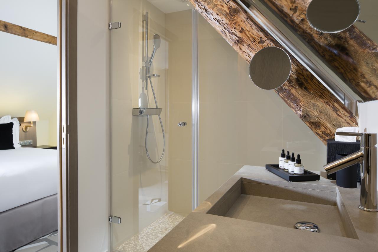 Le XV - Chambre Deluxe - Salle de bain